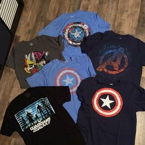 Marvel Lot - All size large
